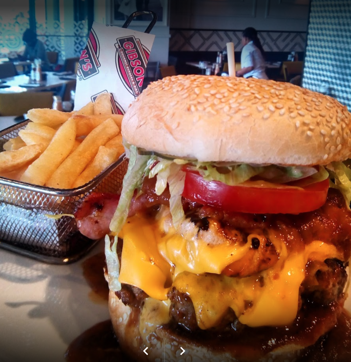 Gibson's Burgers in Cape Town