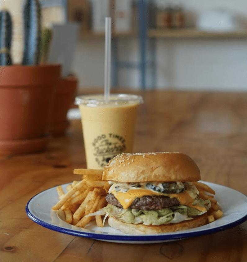 The Tuckshop Hamburger