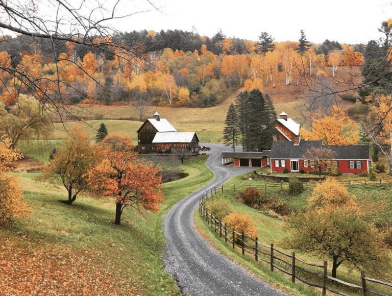 Best Vermont INstagram spots