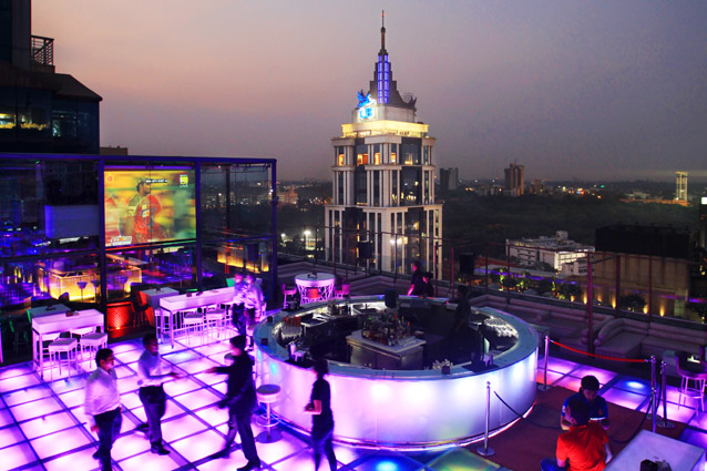 Skyye Lounge bar in Bangalore