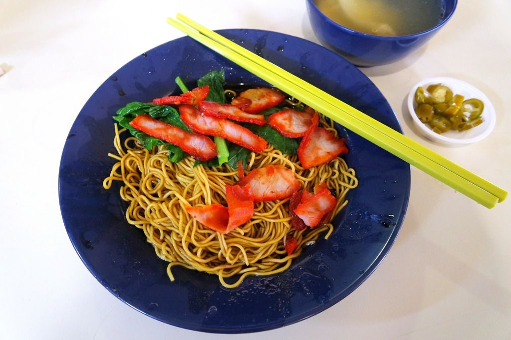 Fave Wanton Mee in SG