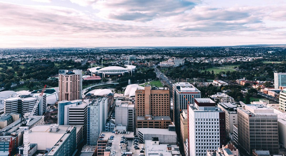 Adelaide Australian Millennial City
