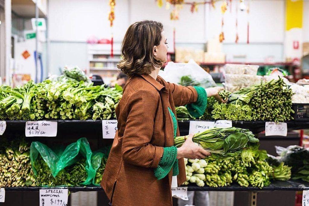 Fresh Vegetables in Adelaide central market