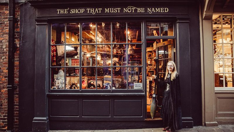 Harry Potter Street In York Shambles
