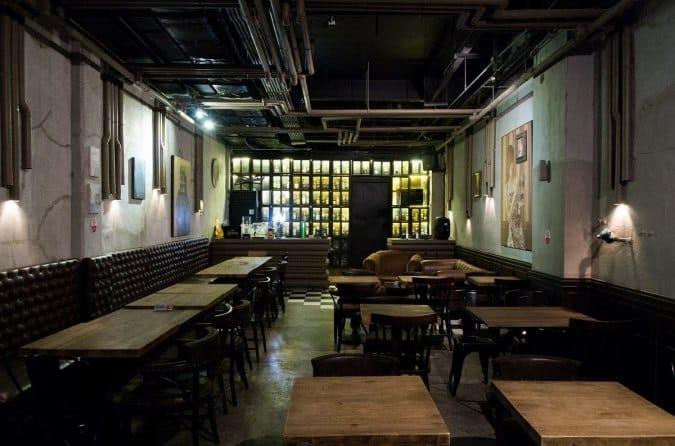 speakeasy-style bar in Manila