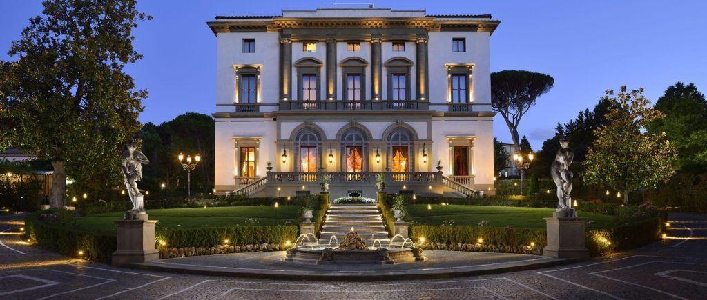 Villa Cora romantic hotel