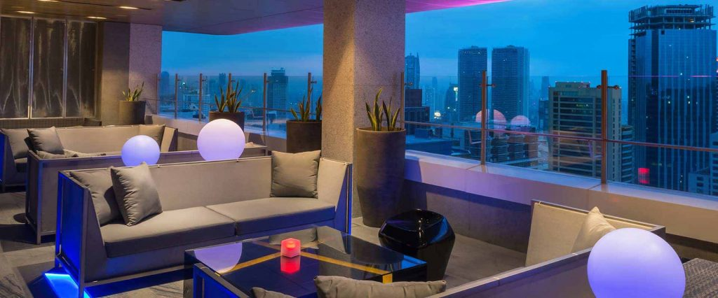 Vu's Sky Bar in Manila