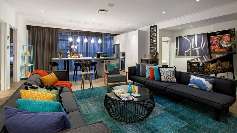 Contemporary hotel in Melbourne