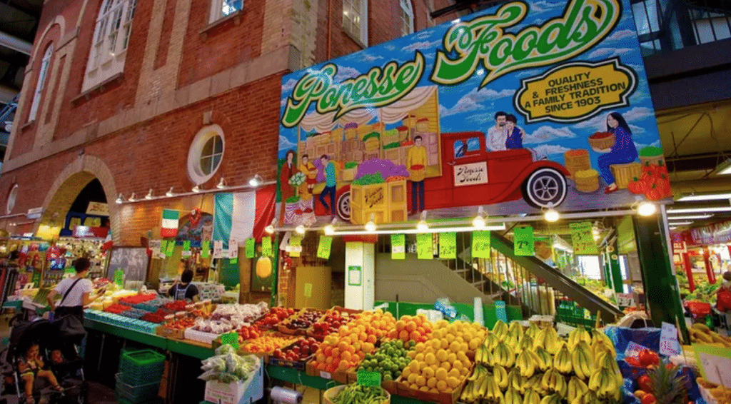 Browse one of the exciting city markets inToronto