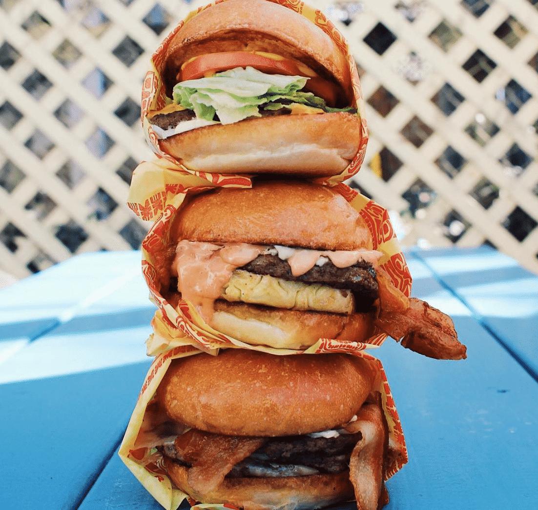 Pool Burger in Texas