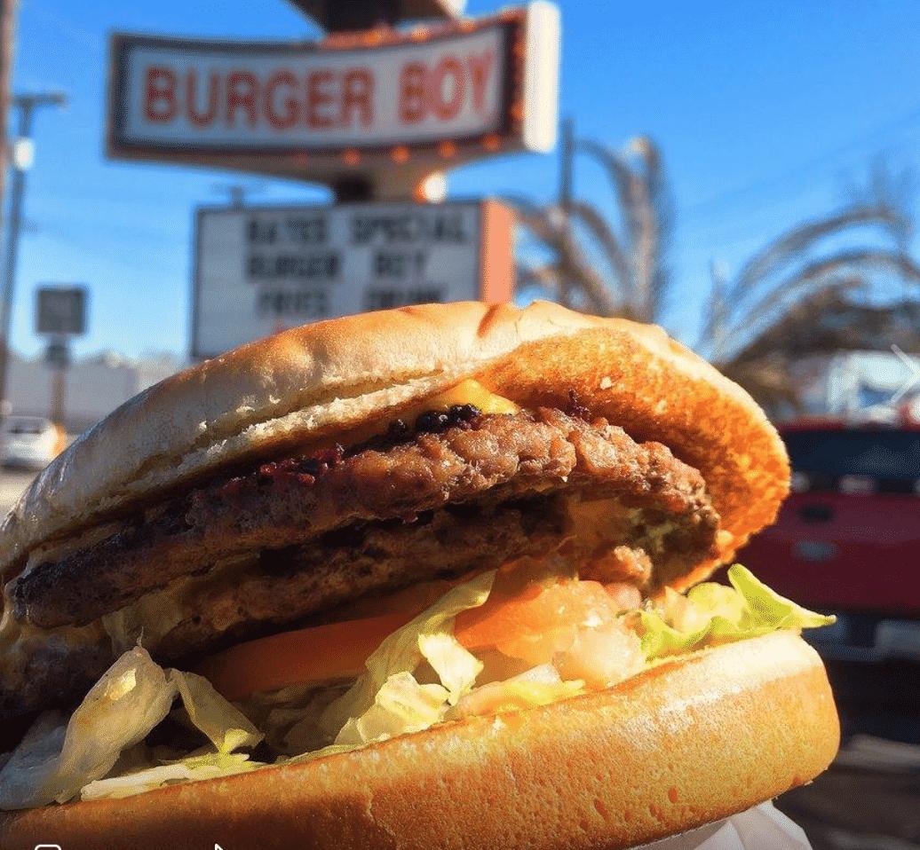 Burger Boy in Texas