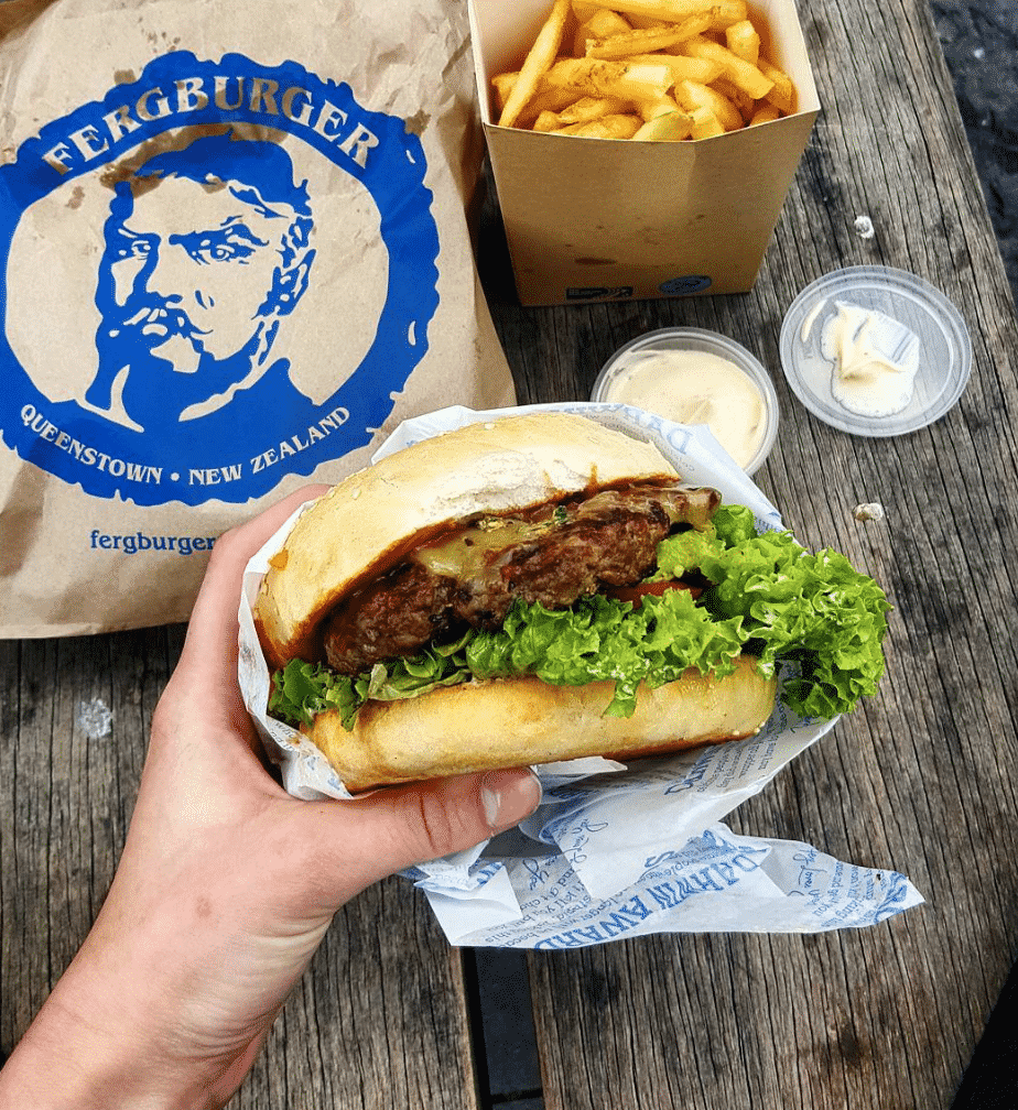 Fergburger in NZ
