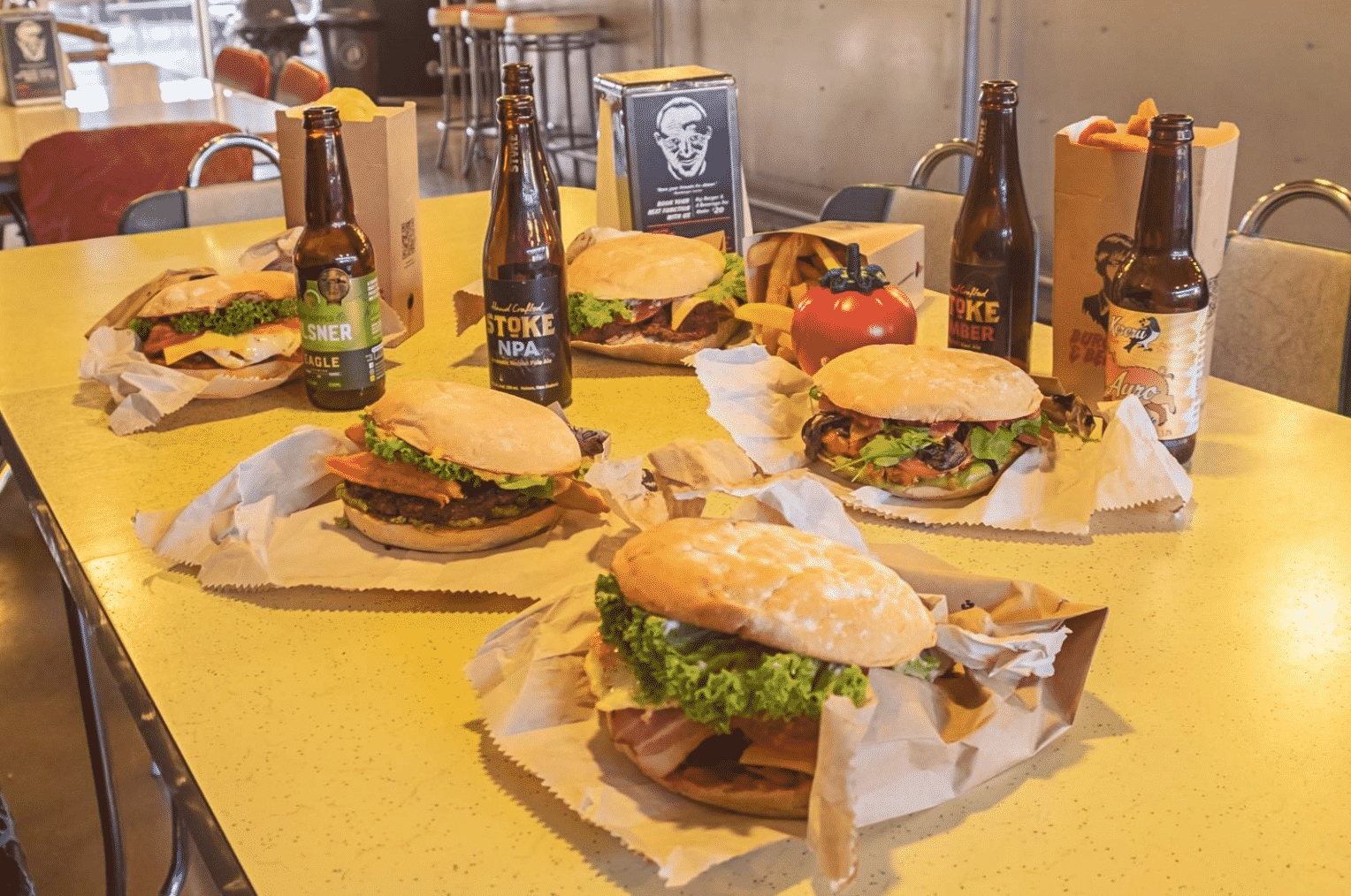 Burgers & Beers in NZ