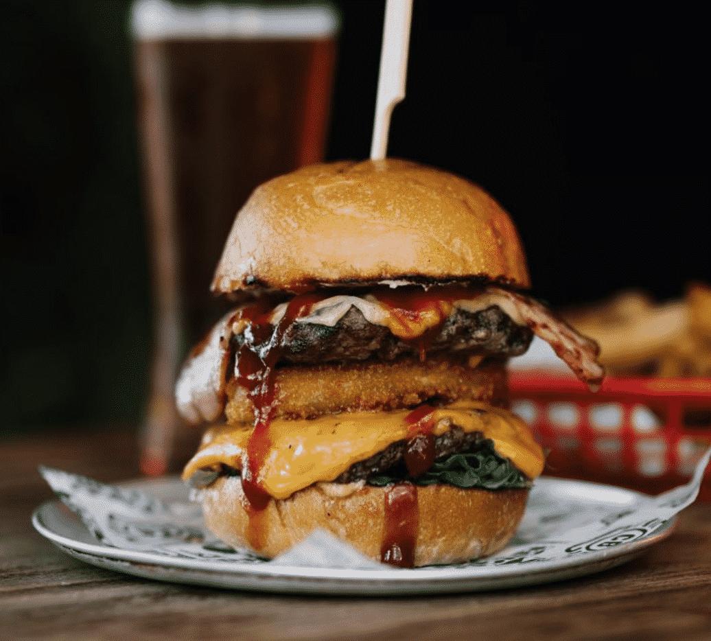 Corner Burger in NZ