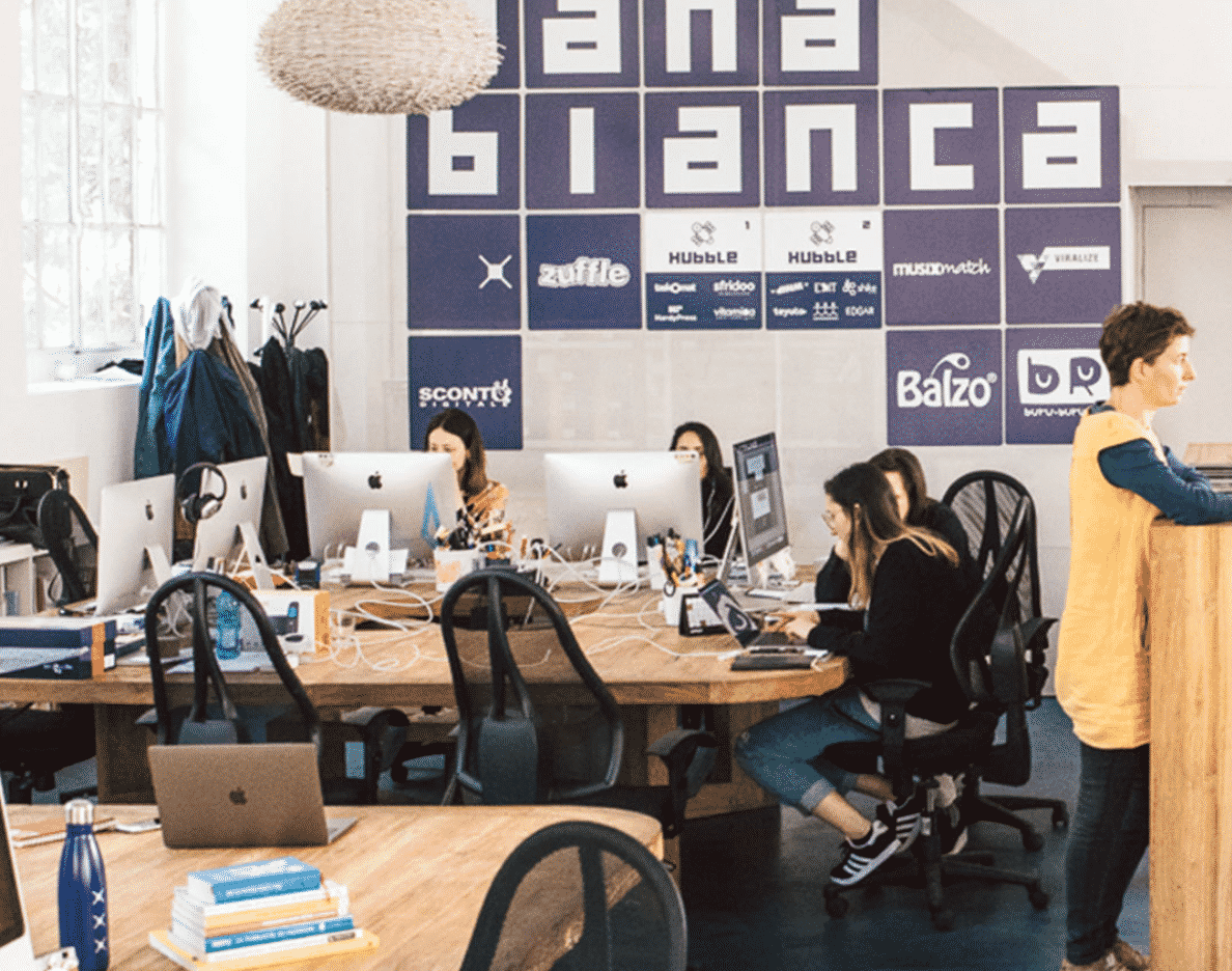 Nana Bianca Co-Working Spots In Europe