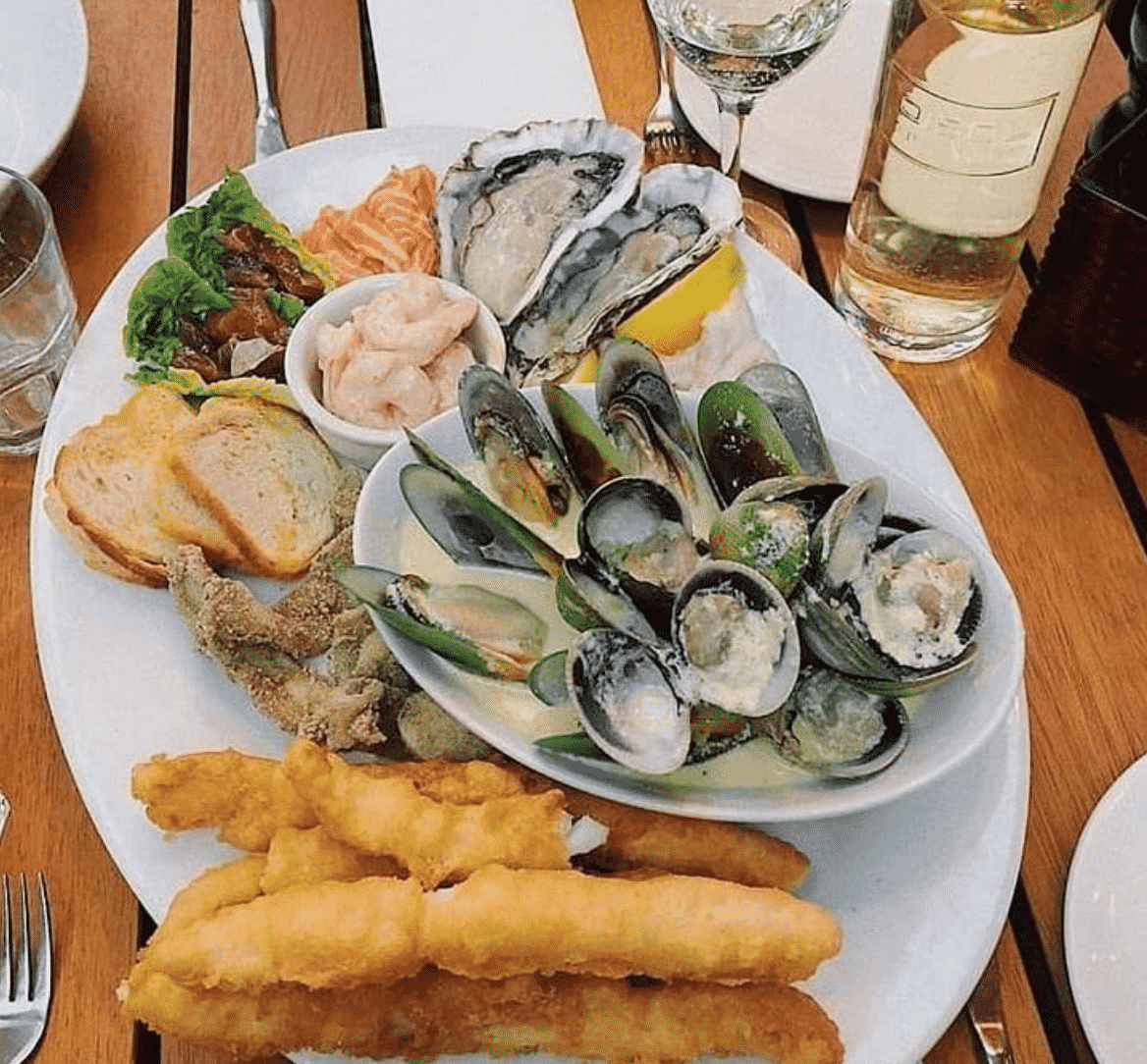 Seafood Platter in NZ