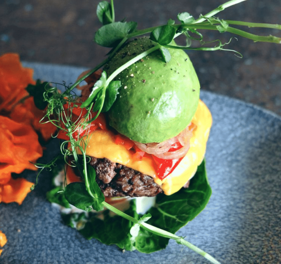 Sanook Cafe Hamburger