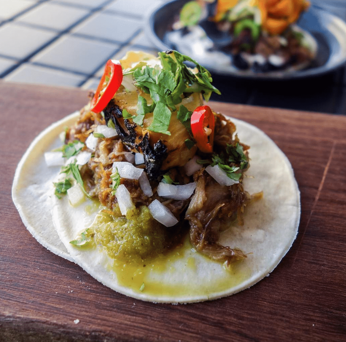 Duck Tacos in Perth