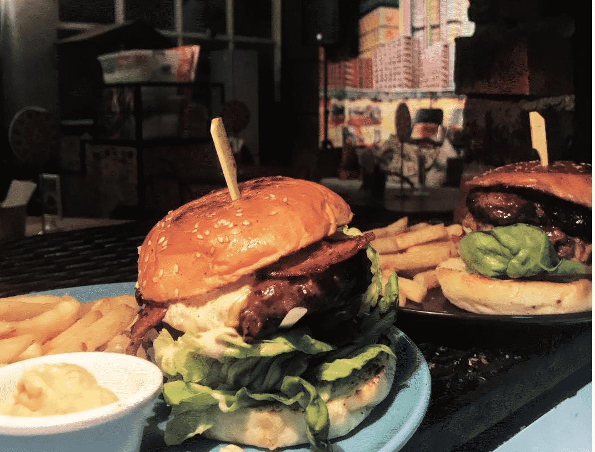Kaw Kaw Burgers in Singapore