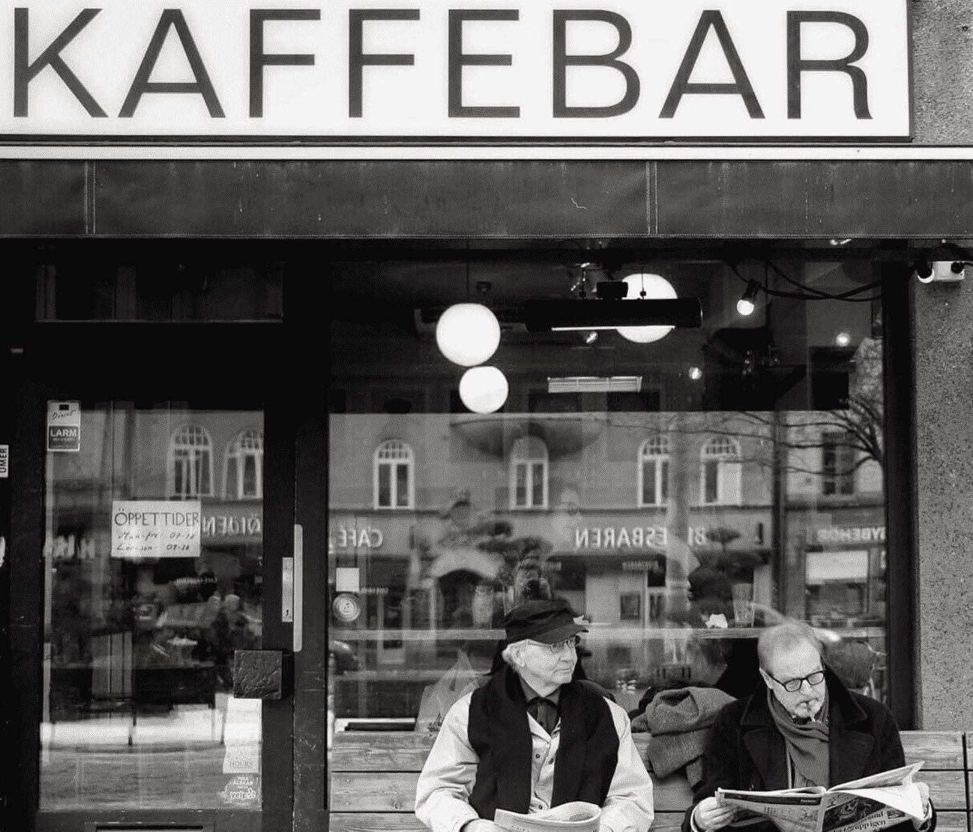 Kaffebar in Stockholm