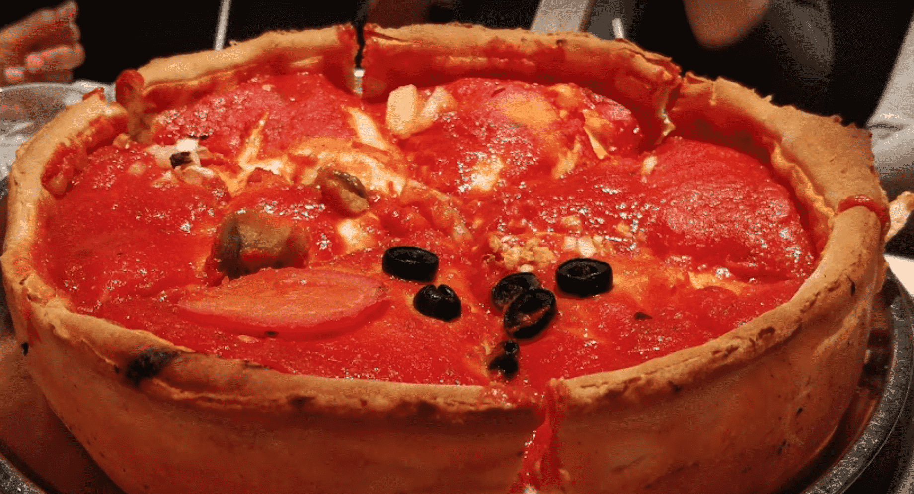 Chicago Style Pizza in Canada