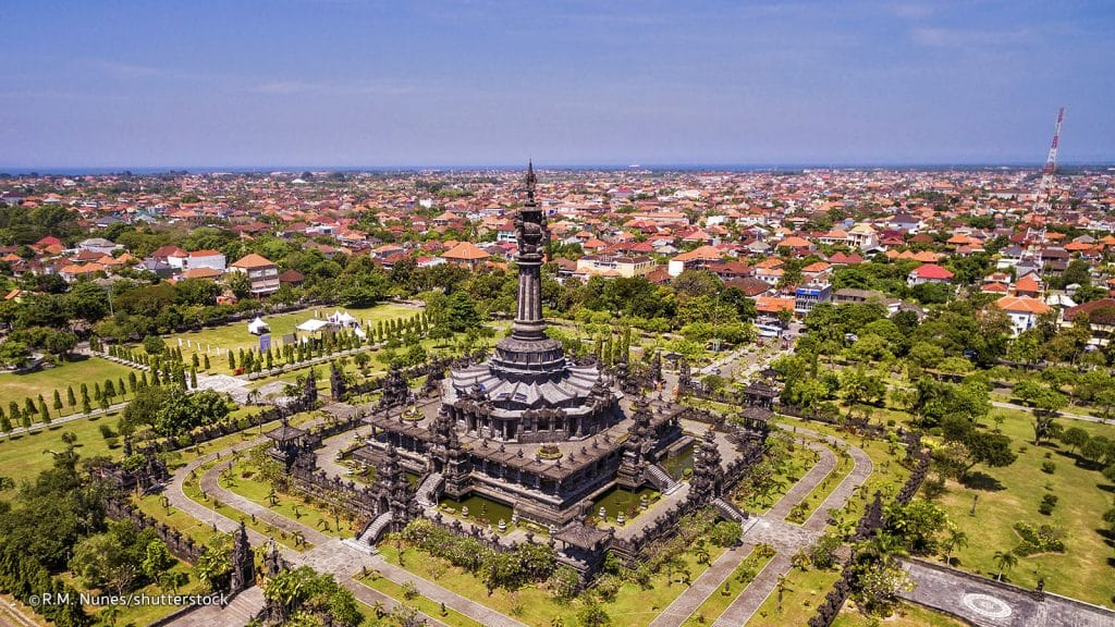 Most visited City Denpasar