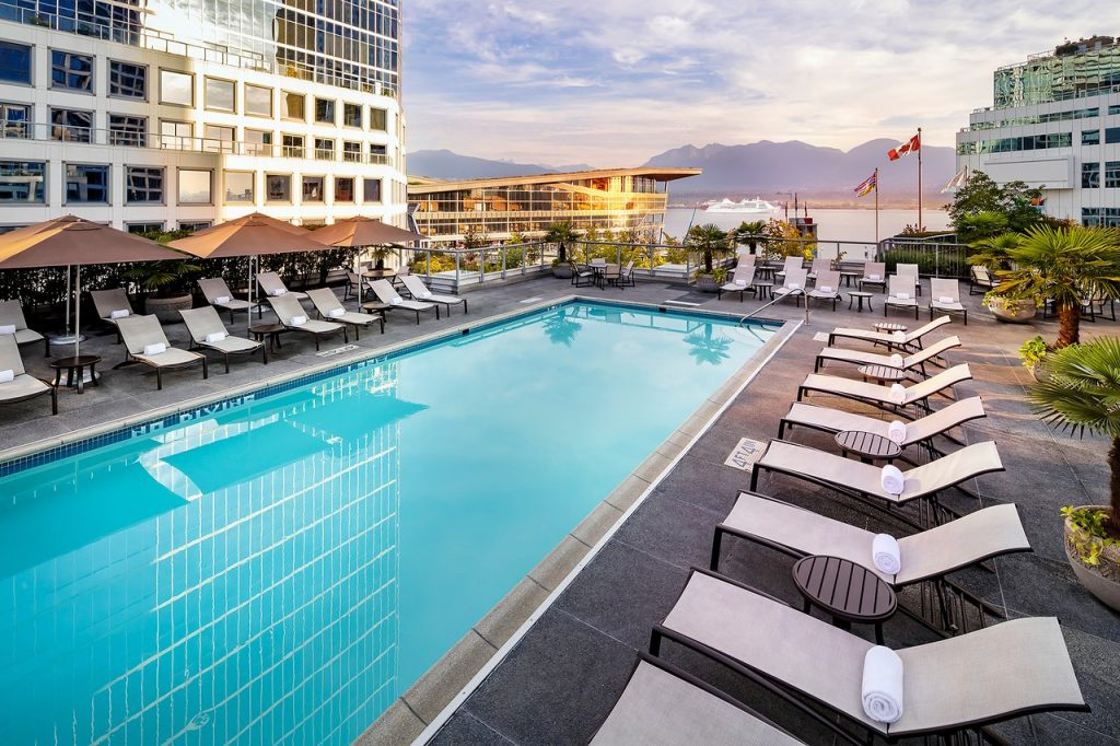 Fairmont Waterfront Hotel in Vancouver
