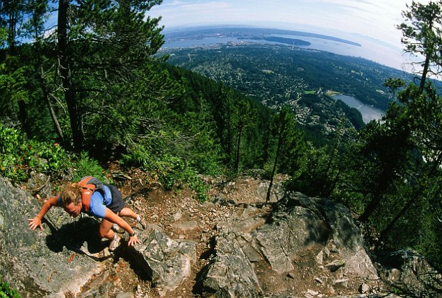 Hike the Grouse Grind in Vancouver