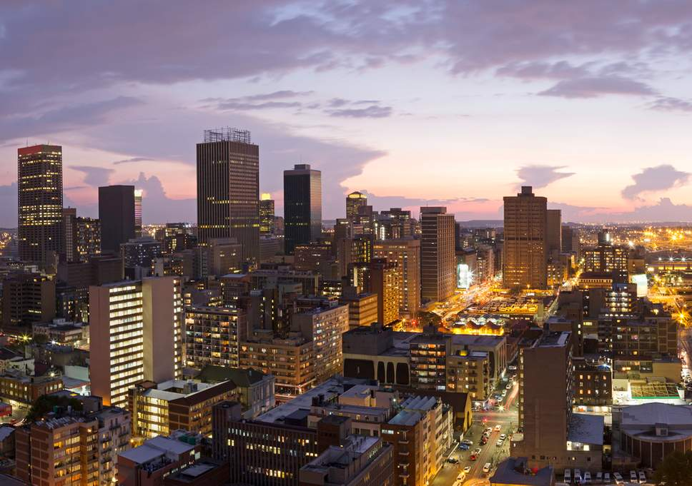 the largest city in South Africa