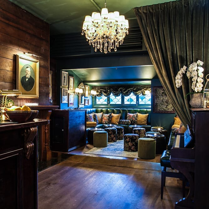 swish 'n' stylish cocktail bar