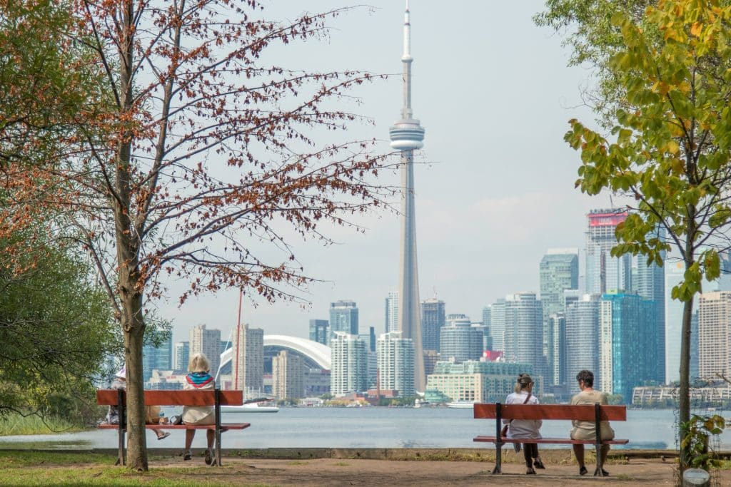 Visit the Toronto Islands in Toronto