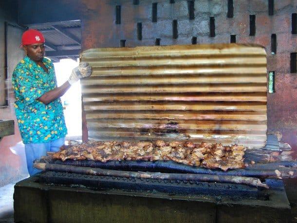 Scotchies Jerk Chicken in Jamaica