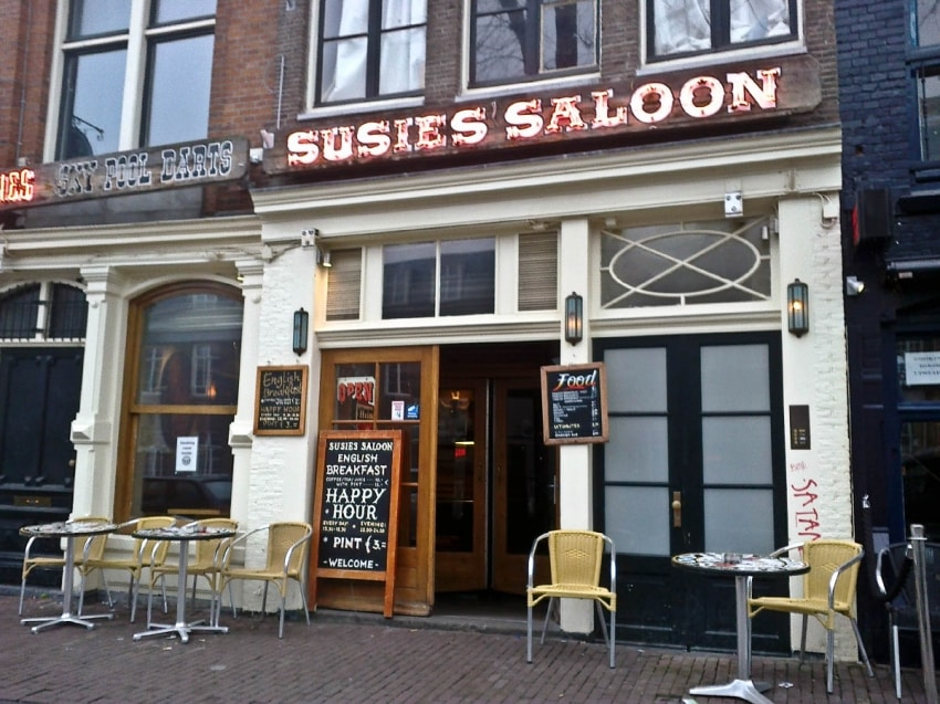 Susie's Dive Bars In Europe