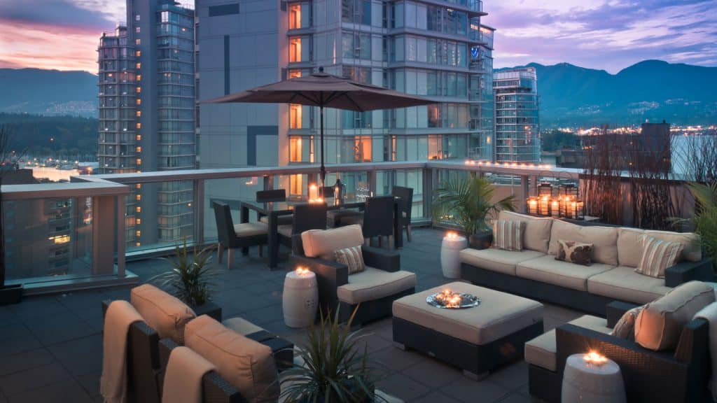 The Loden Hotel in Vancouver