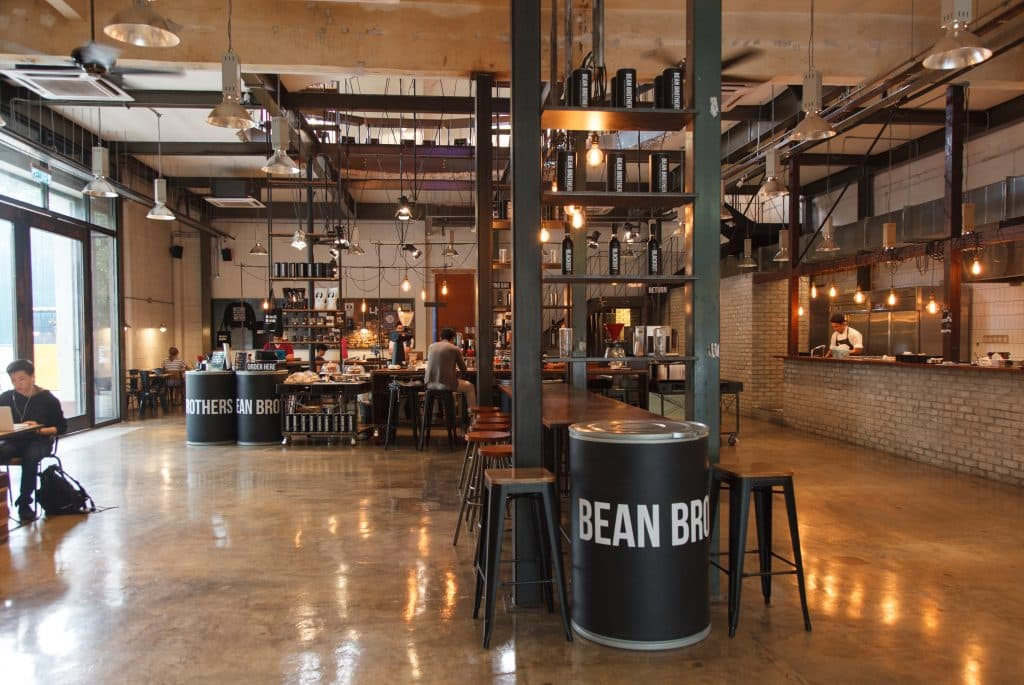 Bean Brothers Coffe Shop in KL