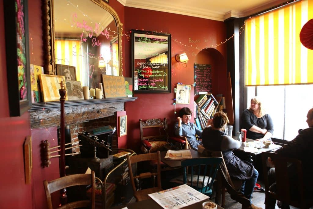 The Black Douglas Coffee House in England