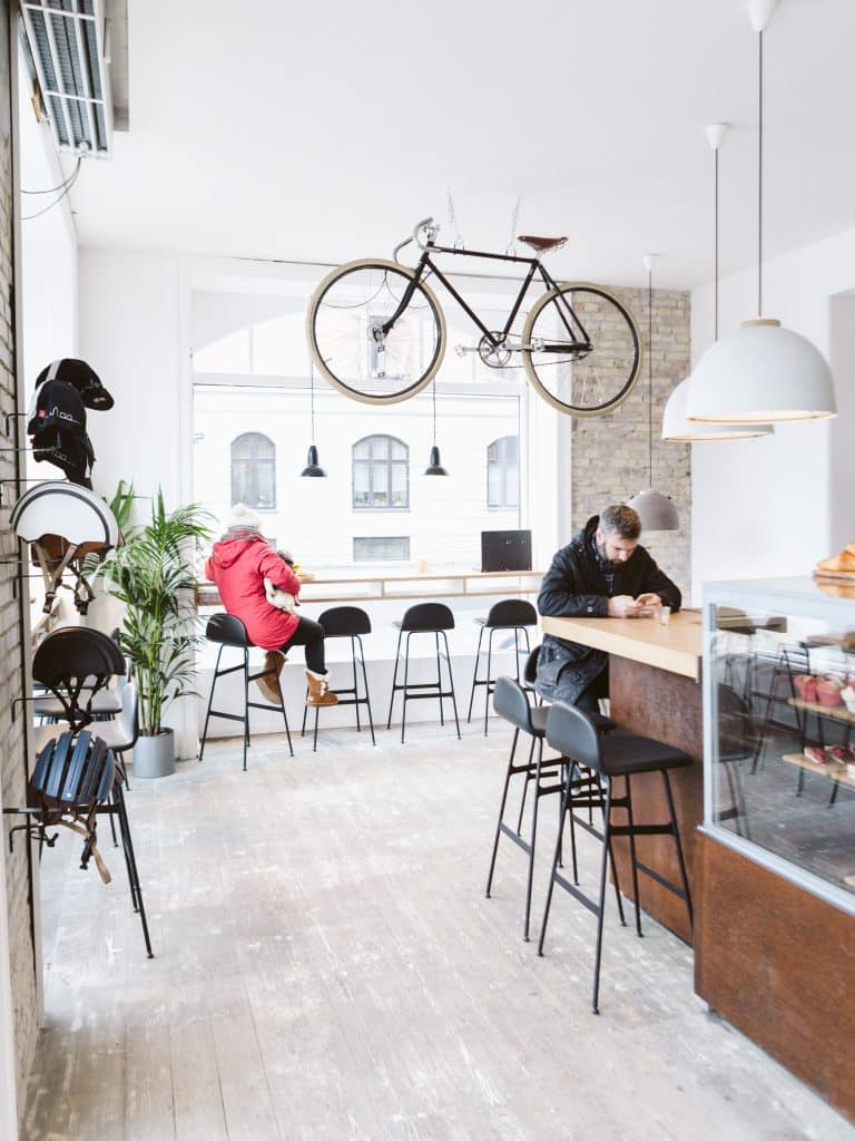 Wecycle Copenhagen Cafe