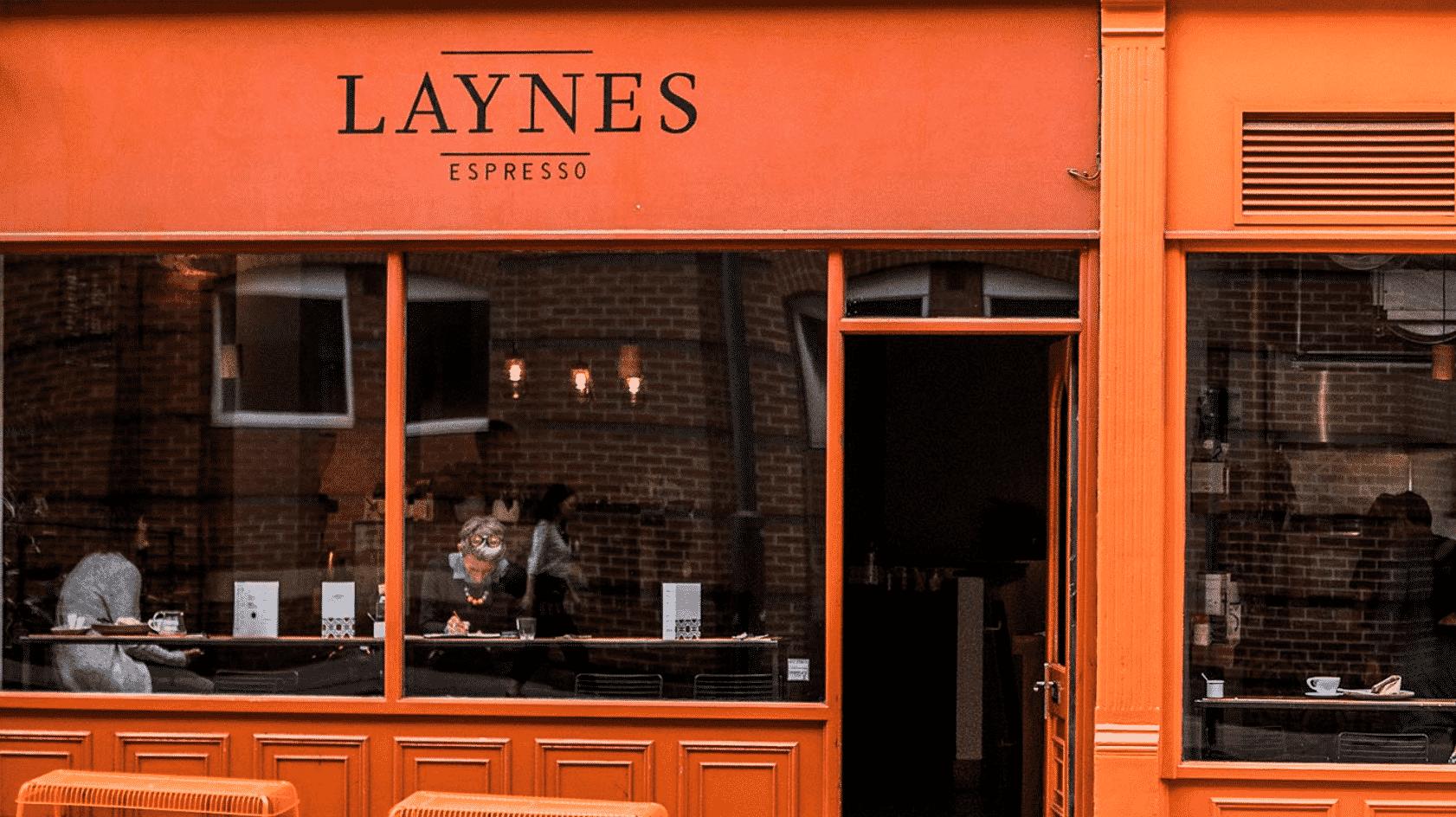 Laynes Espresso Cafe in England