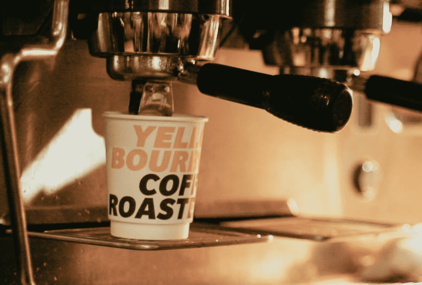 Yellow Bourbon Coffee Roasters In England