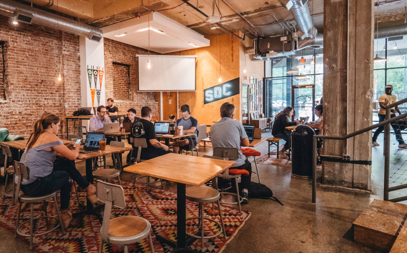 Switchyards Downtown Club Co working place