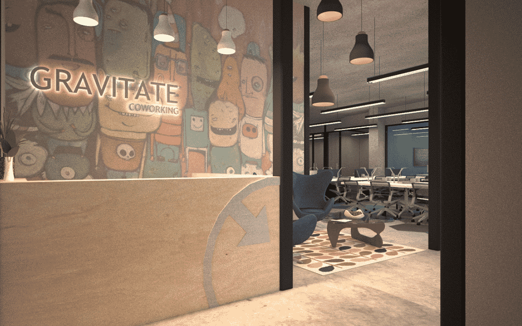 Gravitate Coworking place