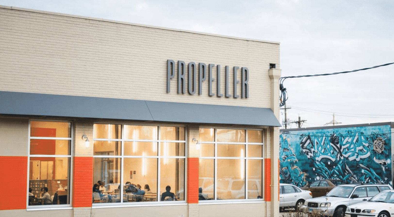 Propeller Incubator Co working spot