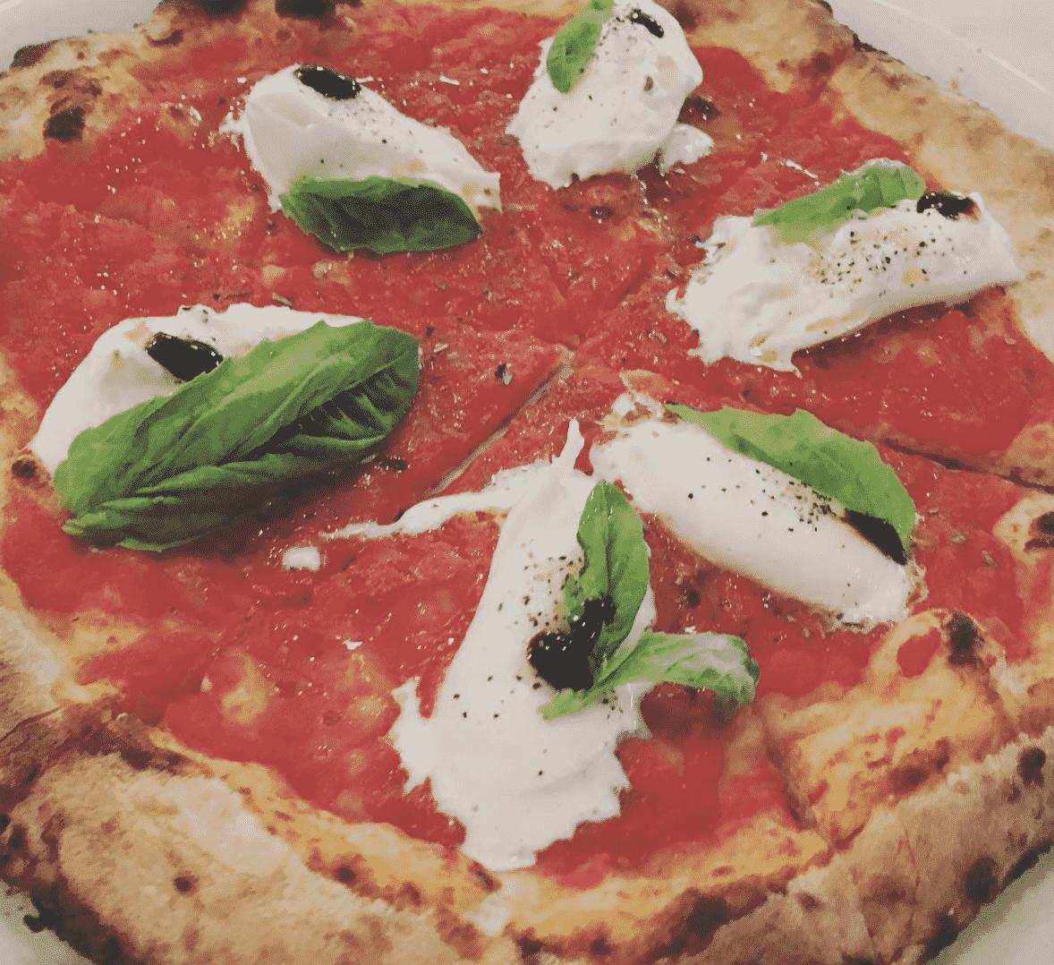 Pizzaiolo Mario Vollera