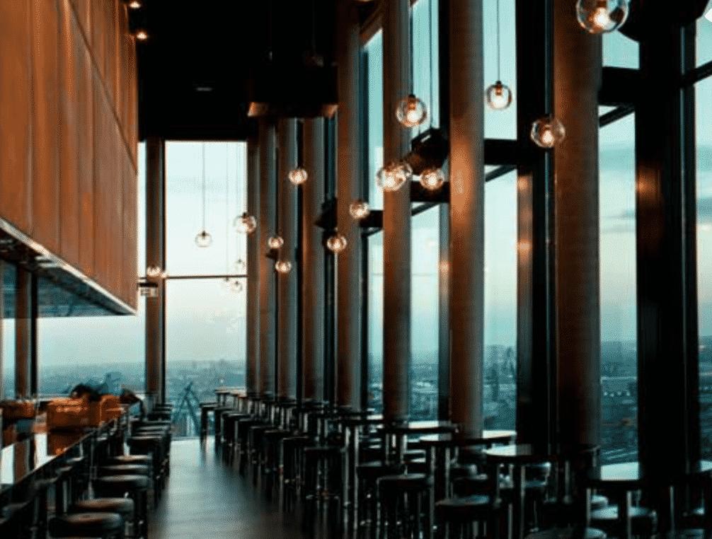 Skyline Bar 20up In Hamburg