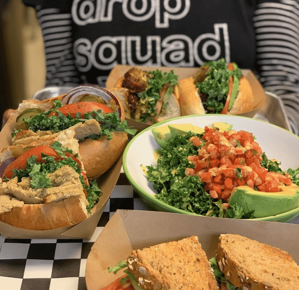 Drop Squad Kitchen Vegan