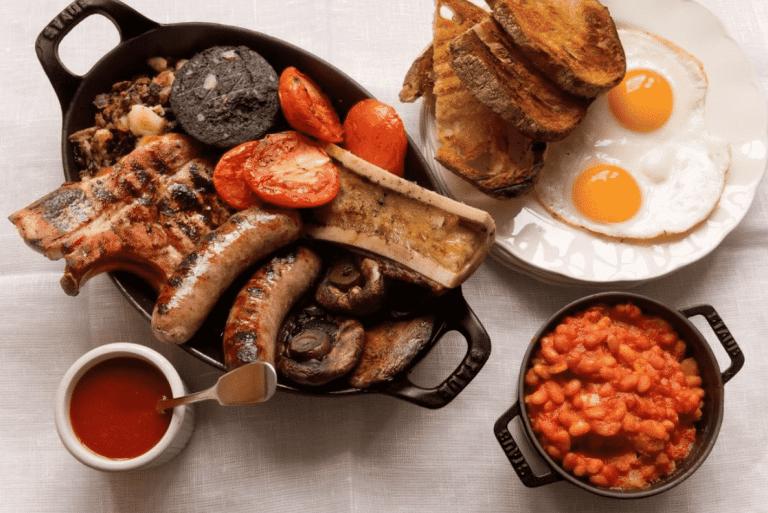50 London Breakfast Dishes