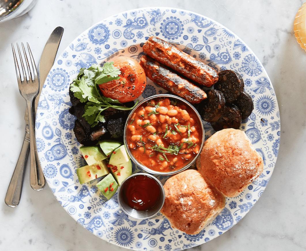The Vegan Bombay Breakfast In London