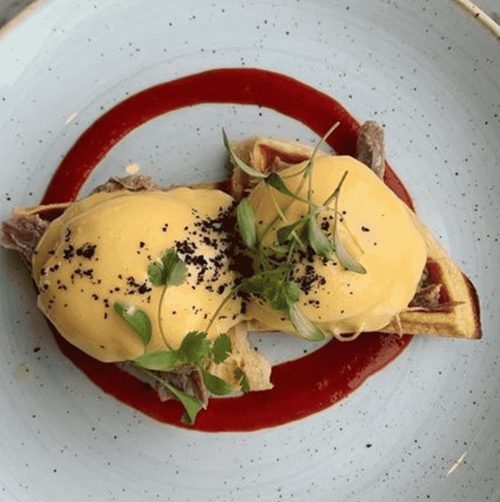 Duck & Waffle Breakfast  In London