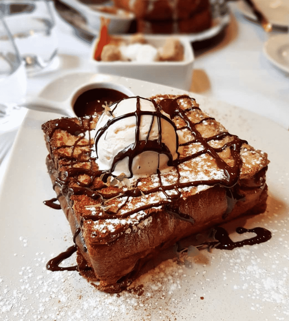 Chocolate French Toast In London
