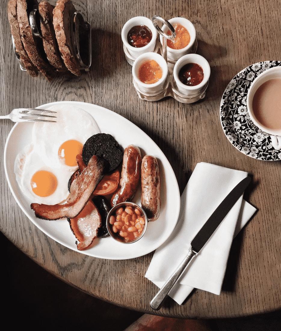 The Fry Up Breakfast In London